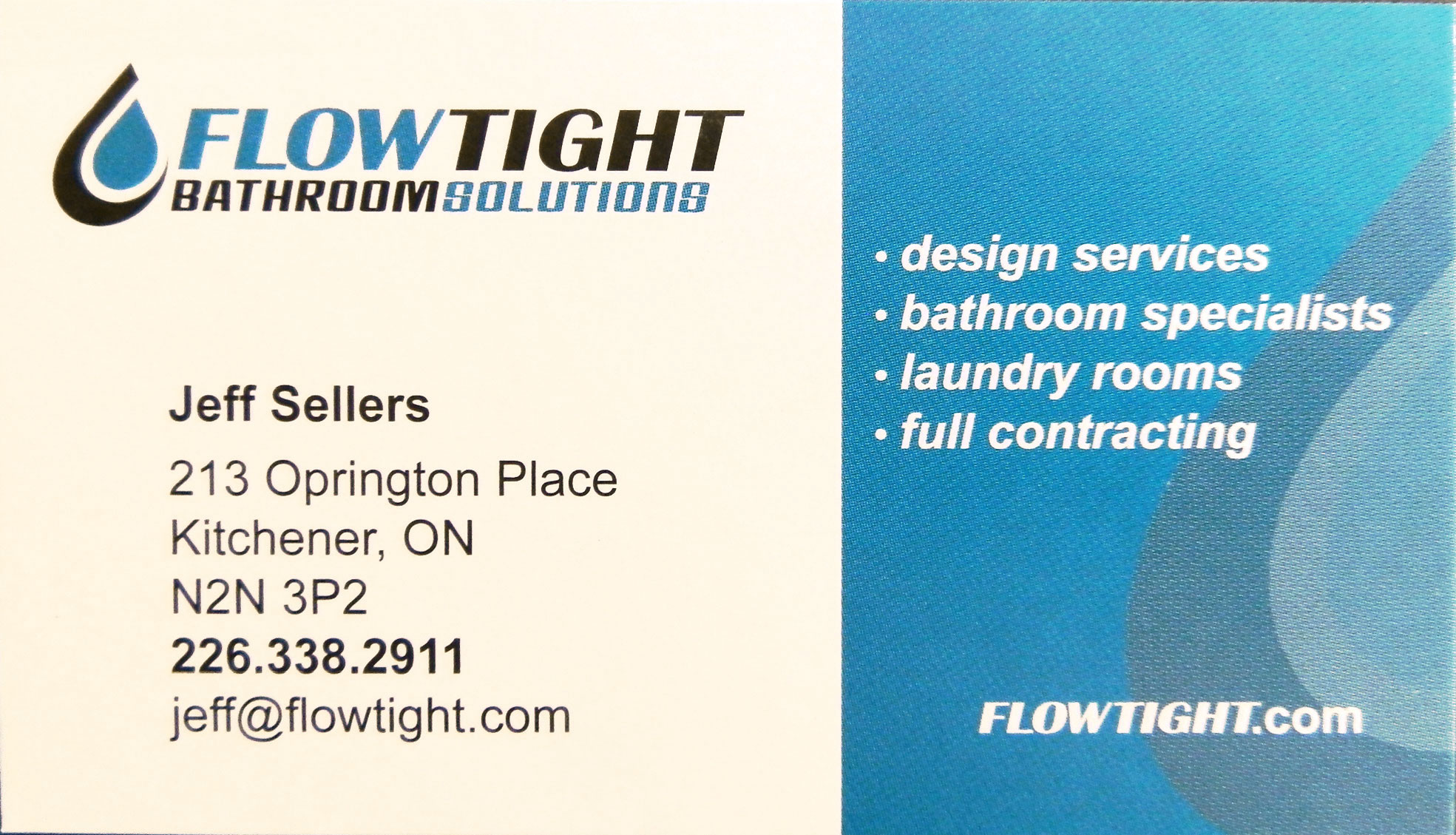 Flow Tight Bathroom Solutions